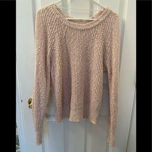 Free People Marled Yarn Sweater